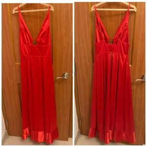 Gorgeous Red Dress Christmas party 🎄 sz 4